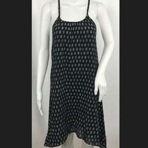 NWT Gap Black and white floral trapeze dress
